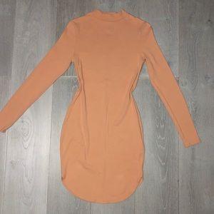Peachy mini dress